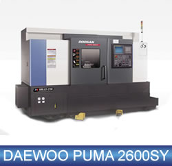 Daewoo Puma MX2000 Mill Turn Centre