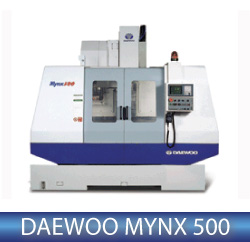 Daewoo Mynx 500 Vertical Milling Machine