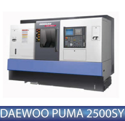 Daewoo Puma 2500SY Mill Turn centre